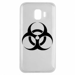 Чехол для Samsung J2 2018 biohazard