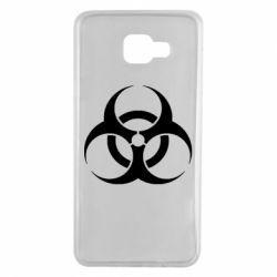 Чехол для Samsung A7 2016 biohazard