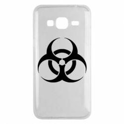 Чехол для Samsung J3 2016 biohazard