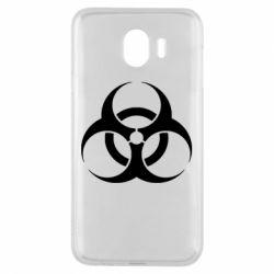 Чехол для Samsung J4 biohazard