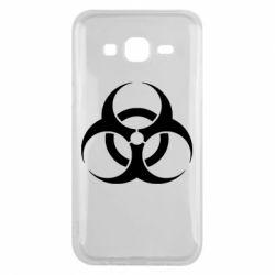 Чехол для Samsung J5 2015 biohazard