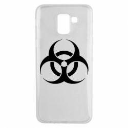 Чехол для Samsung J6 biohazard