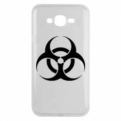 Чехол для Samsung J7 2015 biohazard