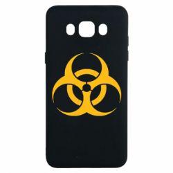 Чехол для Samsung J7 2016 biohazard