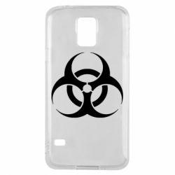 Чехол для Samsung S5 biohazard
