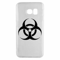 Чехол для Samsung S6 EDGE biohazard