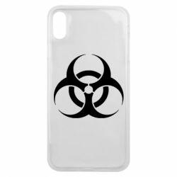 Чехол для iPhone Xs Max biohazard