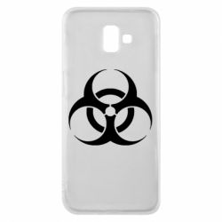 Чехол для Samsung J6 Plus 2018 biohazard