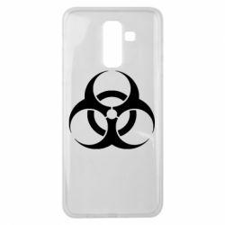 Чехол для Samsung J8 2018 biohazard