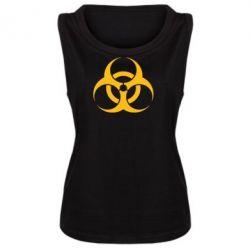 Женская майка biohazard - FatLine