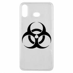 Чехол для Samsung A6s biohazard