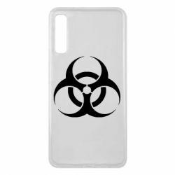 Чехол для Samsung A7 2018 biohazard