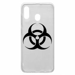 Чехол для Samsung A30 biohazard
