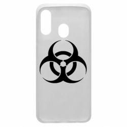 Чехол для Samsung A40 biohazard