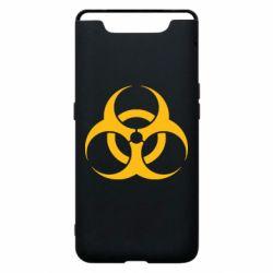 Чехол для Samsung A80 biohazard