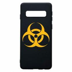 Чехол для Samsung S10 biohazard
