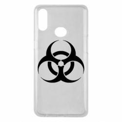 Чехол для Samsung A10s biohazard