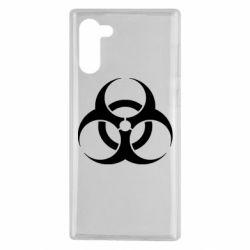 Чехол для Samsung Note 10 biohazard