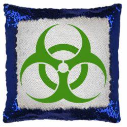 Подушка-хамелеон biohazard