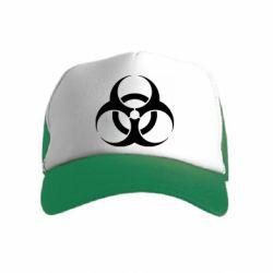 Детская кепка-тракер biohazard