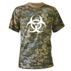 Камуфляжная футболка biohazard - FatLine