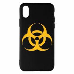 Чехол для iPhone X/Xs biohazard