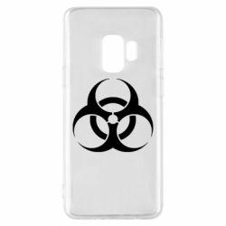 Чехол для Samsung S9 biohazard
