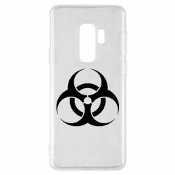 Чехол для Samsung S9+ biohazard