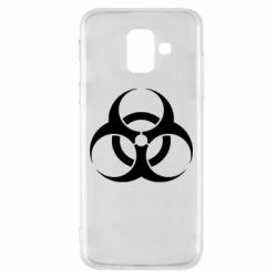 Чехол для Samsung A6 2018 biohazard