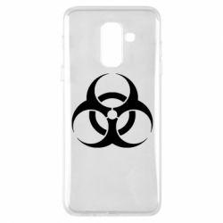 Чехол для Samsung A6+ 2018 biohazard