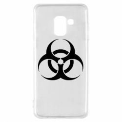 Чехол для Samsung A8 2018 biohazard
