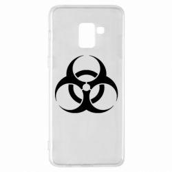 Чехол для Samsung A8+ 2018 biohazard