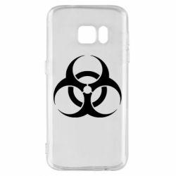 Чехол для Samsung S7 biohazard