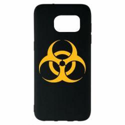 Чехол для Samsung S7 EDGE biohazard