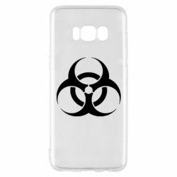 Чехол для Samsung S8 biohazard