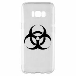 Чехол для Samsung S8+ biohazard