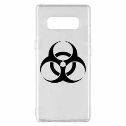 Чехол для Samsung Note 8 biohazard