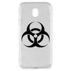 Чехол для Samsung J3 2017 biohazard
