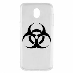 Чехол для Samsung J5 2017 biohazard