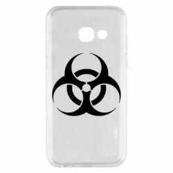 Чехол для Samsung A3 2017 biohazard