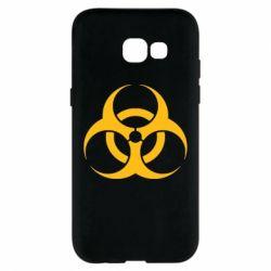 Чехол для Samsung A5 2017 biohazard