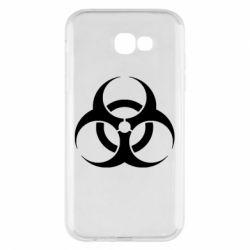 Чехол для Samsung A7 2017 biohazard