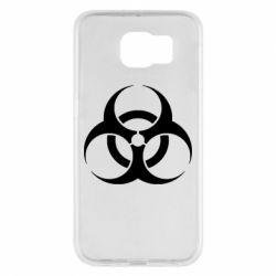Чехол для Samsung S6 biohazard