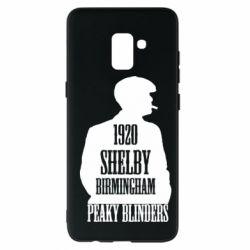 Чохол для Samsung A8+ 2018 Birmingham 1920