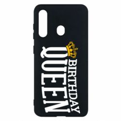 Чехол для Samsung M40 Birthday queen and crown yellow