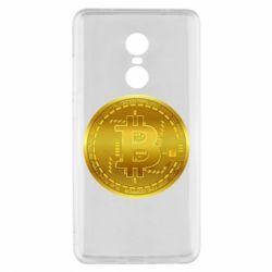 Чохол для Xiaomi Redmi Note 4x Bitcoin coin