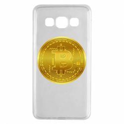 Чохол для Samsung A3 2015 Bitcoin coin