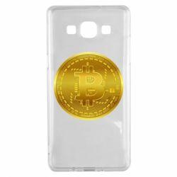 Чохол для Samsung A5 2015 Bitcoin coin