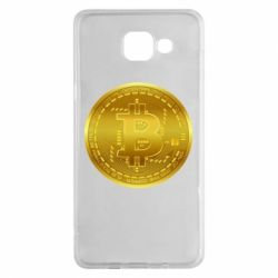 Чохол для Samsung A5 2016 Bitcoin coin