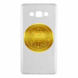 Чохол для Samsung A7 2015 Bitcoin coin